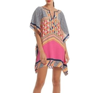 Trina Turk Haute Havana Tunic Dress, XS/S